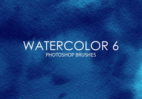 Free Watercolor Photoshop Brushes 6