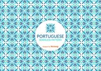 Patrón de mosaico portugués