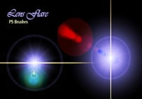 20 Lens Flares PS Brushes abr vol.11