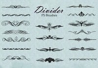 20 Divider Ps Brushes abr. vol.5