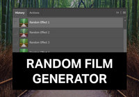 Random Film Generator para Photoshop
