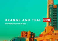 Orange und Teal Actions