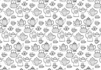 Te Potter Seamless Pattern
