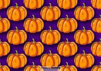 Pumpkin Seamless Pattern