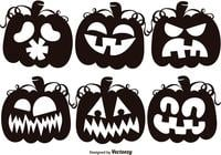 Set-of-black-jack-o-lantern-silhouettes-brushes