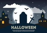 Scary-psd-halloween-graveyard-photoshop-psds