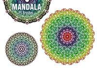 20 Mandala PS Brushes abr. vol.5
