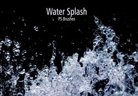 20 Water Splash Brushes.abr Vol.1
