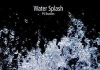 20 Water Splash Brushes.abr Vol.1