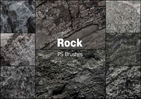 20 Rock Texture PS Bürsten abr vol.12