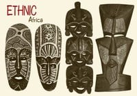 20 Afrikanische Maske Brushes.abr vol.5