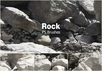 20 Rock Texture PS Borstels abr vol.11