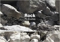 20 Rock Texture PS Bürsten abr vol.11