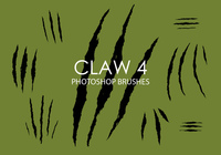 Free claw photoshop bürsten 4