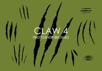 Gratis Claw Photoshop Borstels 4