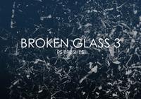 Brosses de photoshop en verre cassé gratuites 3