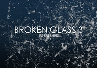 Free Broken Glass Photoshop Brushes 3
