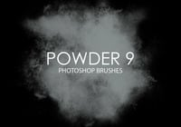Gratis Powder Photoshop Borstar 9