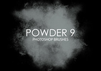 Free Powder Photoshop Brushes 9