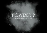 Free Powder Photoshop Brushes 9