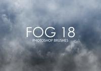 Brosses gratuites photoshop de brouillard 18
