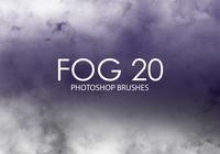 Escovas gratuitas do photoshop de nevoeiro 20