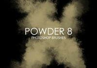 Free Powder Pinceles para Photoshop 8