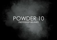 Free Powder Pinceles para Photoshop 10