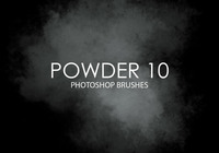Gratis Powder Photoshop Borstar 10