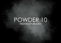 Gratis Poeder Photoshop Borstels 10