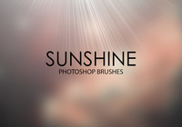 Pinceaux gratuits Sunshine Photoshop