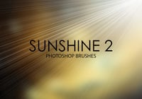 Brosses gratuites photoshop sunshine 2