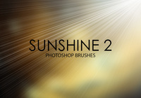 Gratis Sunshine Photoshop Borstels 2