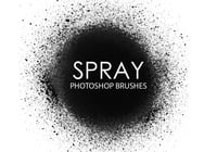 Free Spray Photoshop Brushes