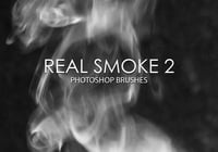 Gratis Real Smoke Photoshop Brushes 2