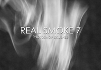 Free Real Smoke Pinceles para Photoshop 7