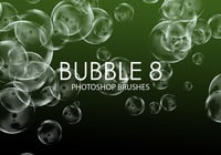 Escovas gratuitas do bubble photoshop 8