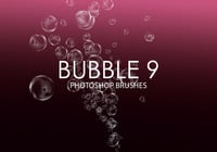 Gratis Bubble Photoshop Borstar 9