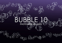 Gratis Bubble Photoshop Borstar 10