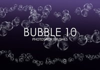 Brosses gratuites photoshop Bubble 10