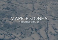 Free Marble Stone Photoshop Brushes 9