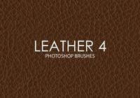 Pinceles de cuero libres 4 de Photoshop