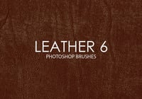 Free Leather Photoshop Brushes 6