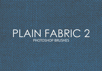 Free Plain Fabric Photoshop Borstels 2
