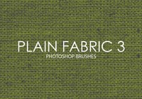 Free Plain Fabric Photoshop Bürsten 3