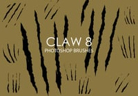Gratis Claw Photoshop Borstels 8