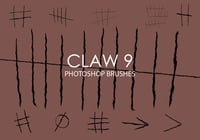 Brosses photoshop claw gratuites 9