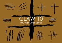 Free Claw Photoshop Brushes 10