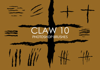 Brosses photoshop claw gratuites 10