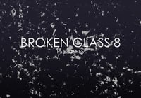 Free Broken Glass Photoshop Brushes 8